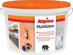 Краска Alpina MattLatex 10л