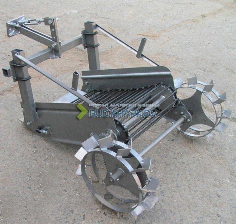 Картофелекопалка транспортерная для трактора своими руками